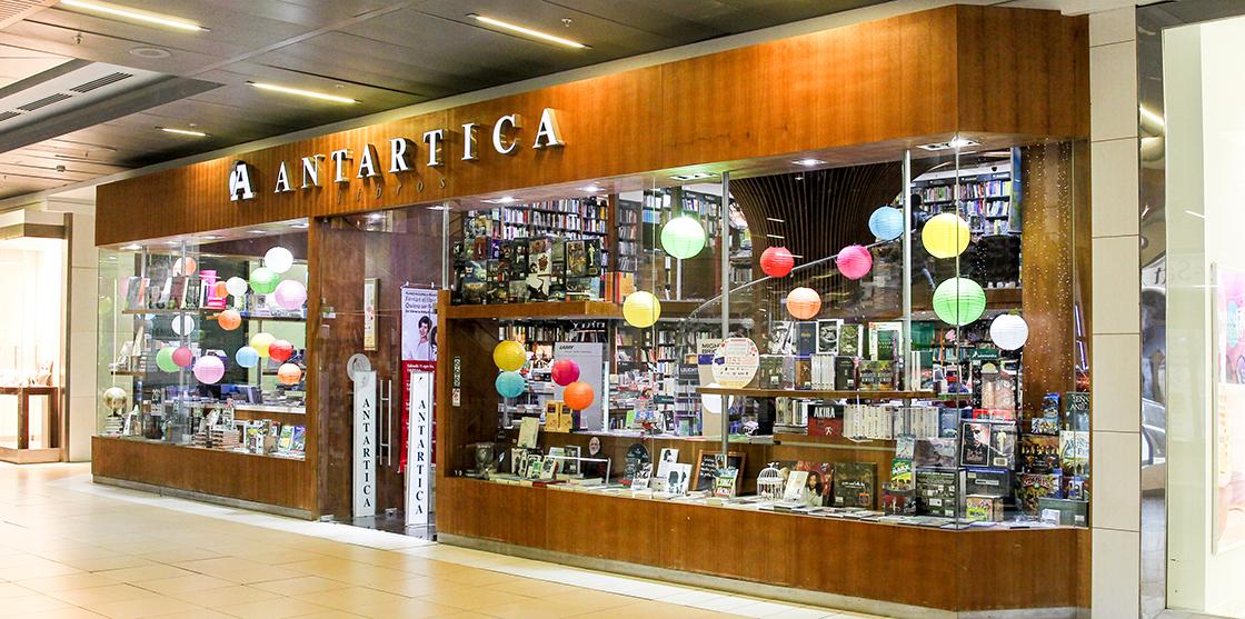 Resultado de imagem para antartica libreria santiago costanera